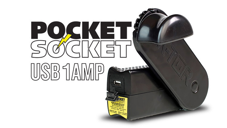 Pocket Socket USB 1AMP Demo