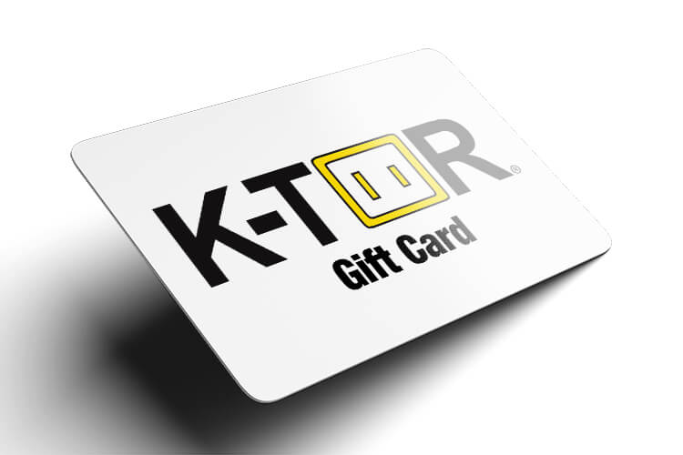Gift Cards For K Tor Human Powered Electricity Generators